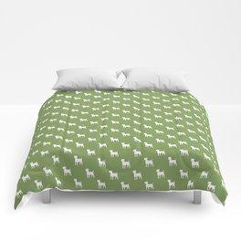 Jack Russell terrier pattern Comforters