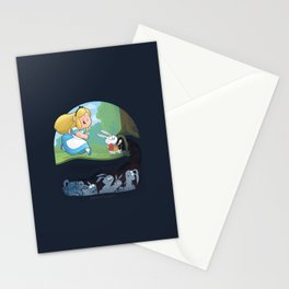 Alice in Troubleland Stationery Cards
