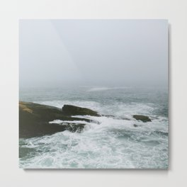 Maine Coast Metal Print