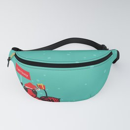 Busy Ant.Merry christmas Fanny Pack