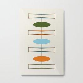 Mid-Century Modern Art 1.2 Metal Print
