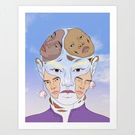Memories Creep In Art Print