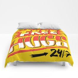 Free Hugs Cheap Love Comforters