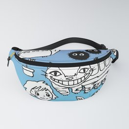 Hand Drawing To7oro Doodles Fanny Pack