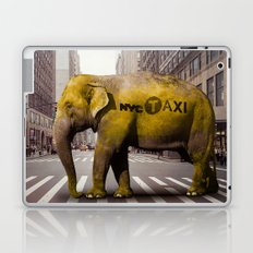 Elephant Taxi NYC Laptop & iPad Skin