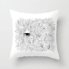 Where are the stagnant waters Throw Pillow
