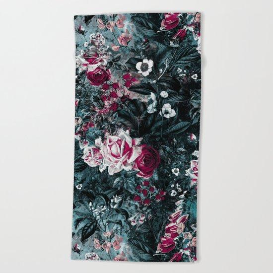 Surreal Garden 2K Beach Towel