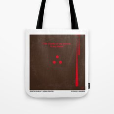 No148 My AVP minimal movie poster Tote Bag