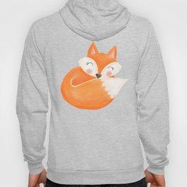 Sweet Sleeping Fox Hoody