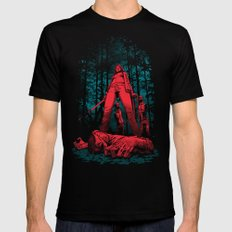 Huntress X-LARGE Mens Fitted Tee Black