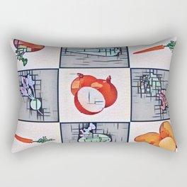Winter Veg. Rectangular Pillow