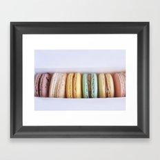 Macaroon(s) Framed Art Print