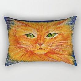 Galaxy Cat Rectangular Pillow