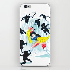 Tales of a Snow Geisha iPhone & iPod Skin