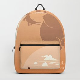It's Not What You Look At That Matters. It's What You See- Henry David Thoreau Quote. Backpack