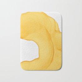 Yellow Ink Bath Mat