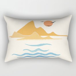 Minimalistic Summer III Rectangular Pillow