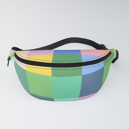 Shades of Spring Green Fanny Pack