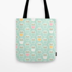 Potted Plants Pastels Tote Bag