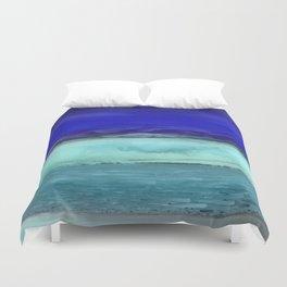 Midnight Waves Seascape Duvet Cover