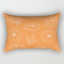 mustard botanic Rectangular Pillow
