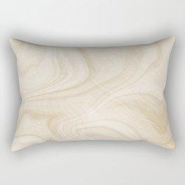 Gold Swirl Marble Rectangular Pillow