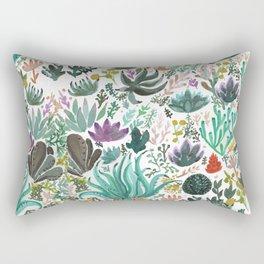 Succulent and Cacti Rectangular Pillow