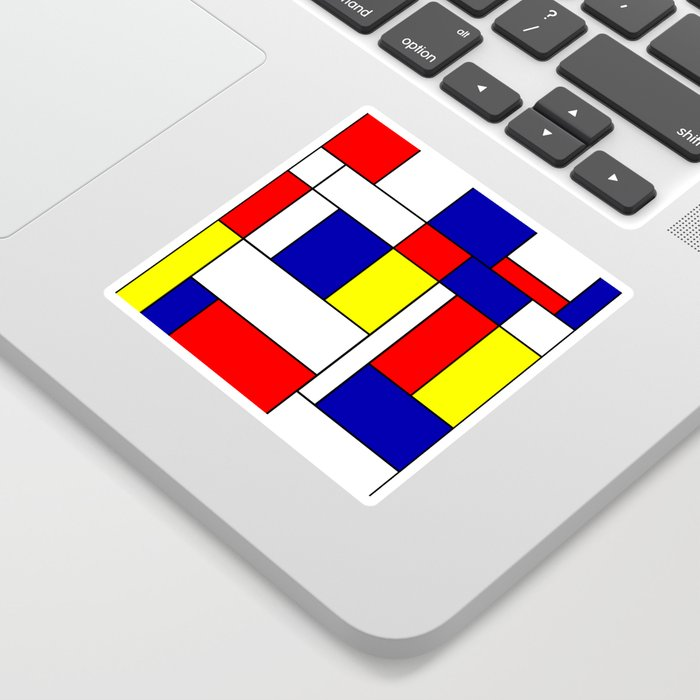 Mondrian #38 Sticker