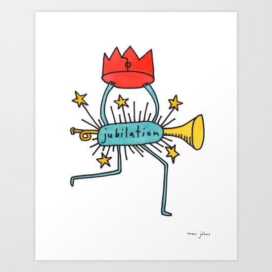 jubilation Art Print