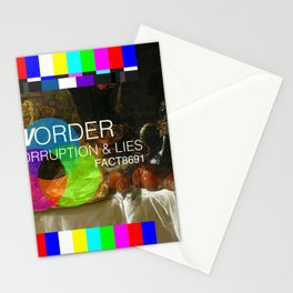 Power, Corruption & Lies Stationery Cards