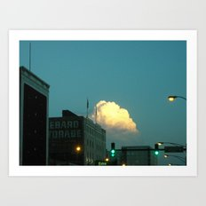 (Extra) Cloud Storage ~ chicago architecture Art Print