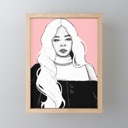 KILL THIS LOVE - Jennie Framed Mini Art Print