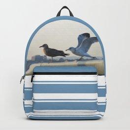 Ring-Billed Gulls at Dusk Backpack