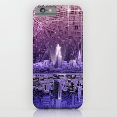 cleveland city skyline Slim Case iPhone 6