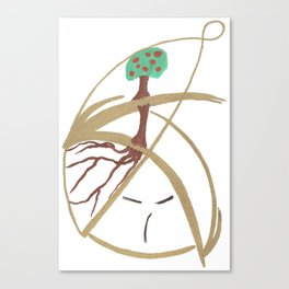 "Mr. ""Tree in hat!"" Canvas Print"