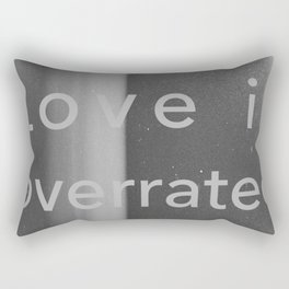 Overrated Rectangular Pillow