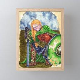 I'm no man Framed Mini Art Print