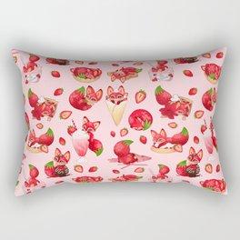 Foxberry Treats Rectangular Pillow