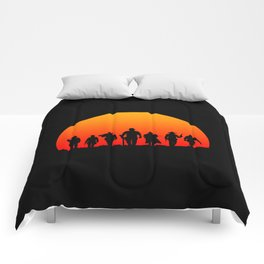 Western Sunset Comforters