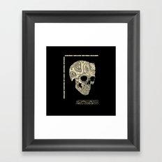 Skullography  Framed Art Print