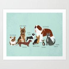 The Pack Art Print