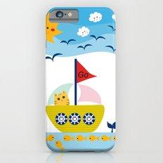 Sailing Cat iPhone 6s Slim Case