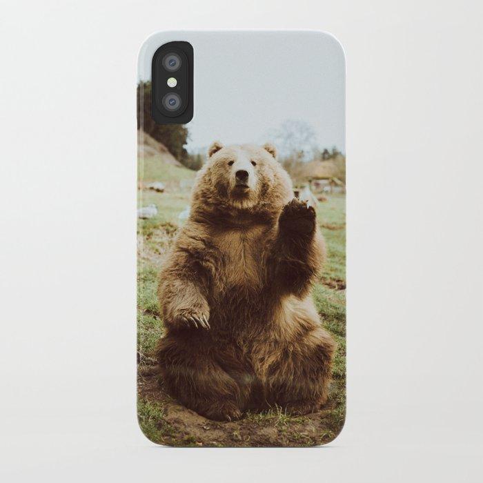 Hi Bear iPhone Case