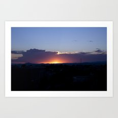 NM Sunset 7 Art Print