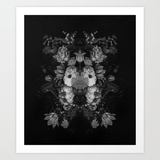 Botanical Darkness Art Print