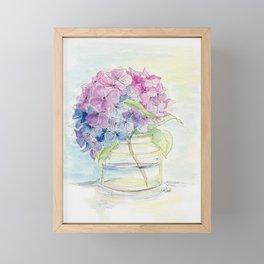 Hydrangea, Still Life Framed Mini Art Print