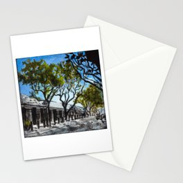Headhouse Square in Philadelphia Stationery Cards
