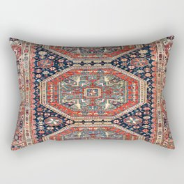 Kuba Sumakh Antique East Caucasus Rug Print Rectangular Pillow