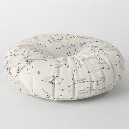 Carte du Ciel II Floor Pillow