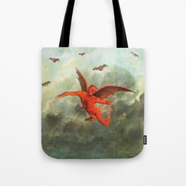 FLYING EVIL Tote Bag